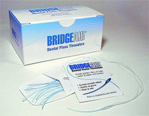 BridgeAid Dental Floss Threader Box
