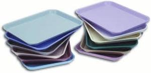 Plasdent Blue Flat Tray, F Mini