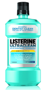 Listerine Antiseptic Ultraclean