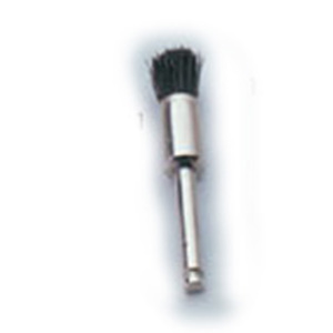 Crescent Disposable Prophy Brushes, Right Angle, Pointed