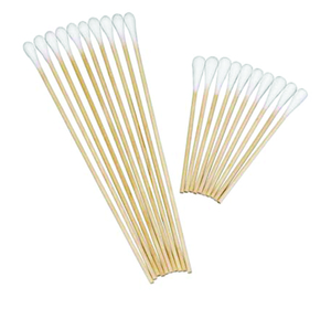 SafeBasics Cotton Tipped Applicators 6