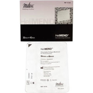 HeliMend Absorbable Collagen Membrane, 20 mm x 30 mm