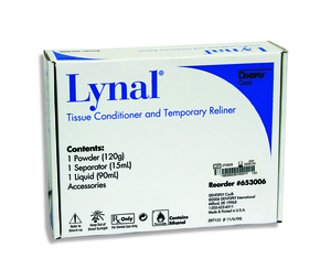 Lynal Tissue Conditioner and Temporary Reliner