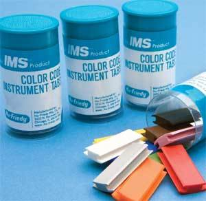 IMS Color Code Ocean Blue Cassette Tabs