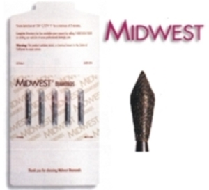 Midwest Football Diamond Burs 368