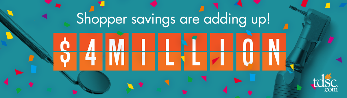 Shopper savings are adding up!
