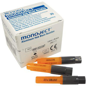 Monoject Blunt Cannula Rigid Pack
