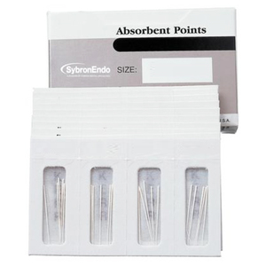 SybronEndo Absorbent Points Auxiliary Sizes