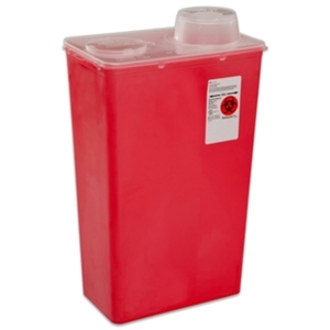 Monoject™ Vertical Drop Sharps Container