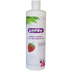 Zooby Perfect Choice 1.23% APF Topical Gel