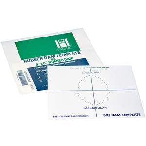 Hygenic Dental Dam Template