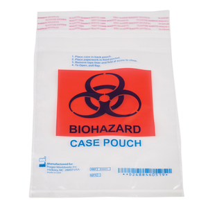 Bio-hazardous Lab Case Shipping Pouch