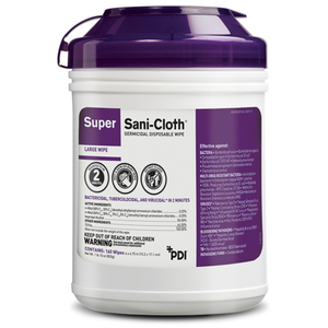 Super Sani-Cloth Germicidal Disposable Wipes