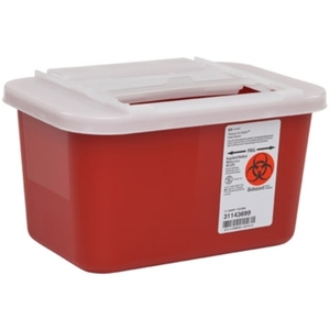 Multi-Purpose Sharps Containers, Sliding Lid