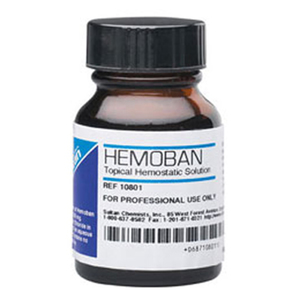 Hemoban Topical Hemostatic Solution