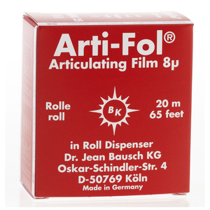Arti-Fol Articulating-Film One-Sided