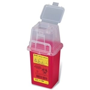 Nestable Sharps Phlebotomy Collector, 1.5 qt