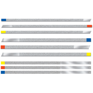 NTI Diamond Finishing Strips Assortment Pack