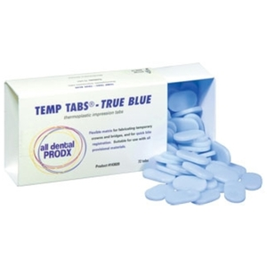 Temp Tabs True Blue