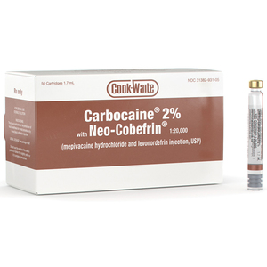 Carbocaine 2% with Neo-Cobefrin