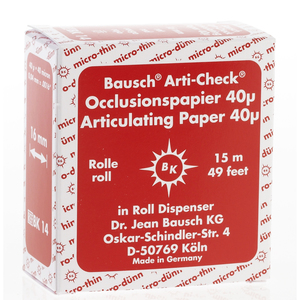 Arti-Check Articulating Papers, Roll in Dispenser