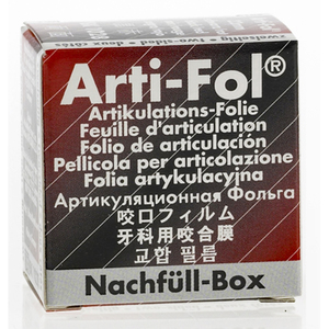 Arti-Fol Metallic Articulating Film Refill