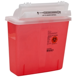 SharpStar™ In-Room™ Sharps Containier with Lid