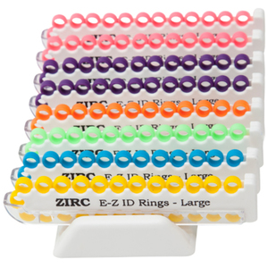 E-Z ID Large Rings System Vibrant