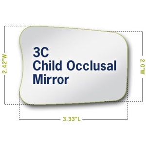 Riofoto Intraoral Mirrors, Child, Occlusal, #3C