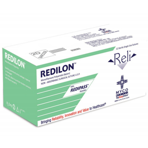 Reli Redilon Black Nylon Sutures