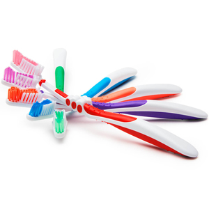 Fluorescent Vista-Spring Toothbrushes