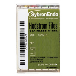 SybronEndo Hedstrom Files Stainless Steel, 21 mm