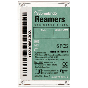 SybronEndo Reamers Stainless Steel