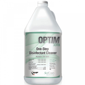 OPTIM 33TB One-Step Disinfectant Cleaner