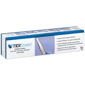 TIDIShield Intra-Oral Camera Covers with The SureClear Window, Video Dental Concepts Quickcam Smile