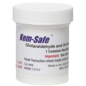 Kem-Safe Glutaraldehyde and OPA Neutralizing Powder
