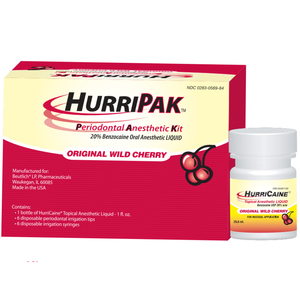 HurriPak Anesthetic Kit