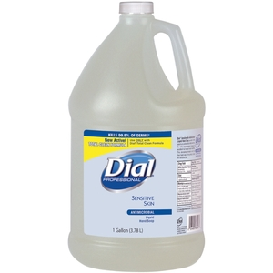 Dial Liquid Hand Soap Sensitive Skin 1 gal Bottle