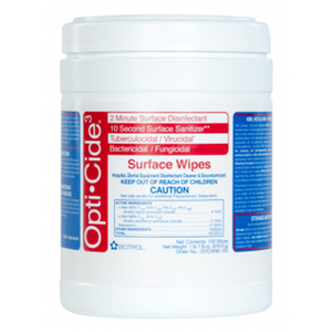 Opti-Cide3 Surface Wipes