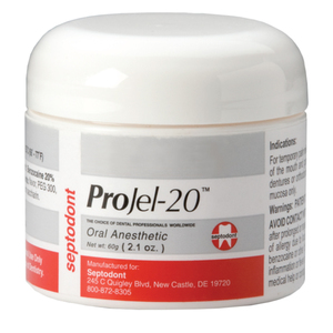 Projel-20 Oral Anesthetic 20% Benzocaine