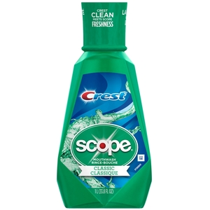 Crest Scope Classic Mouthwash