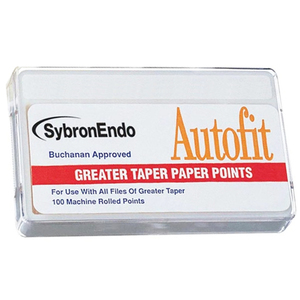 Autofit Greater Taper Paper Points