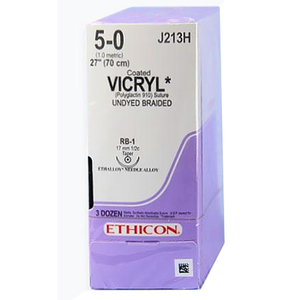 Taper Point Vicryl Synthetic Absorbable Sutures by Ethicon