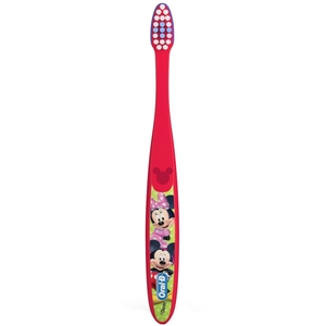 Oral-B Kids Ages 2-3 Mickey & Minnie Toothbrushes