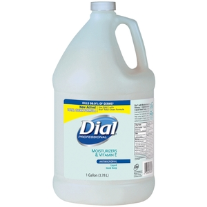 Dial Liquid Hand Soap in 1 gal Bottle