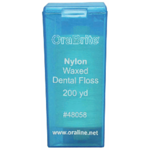 OraBrite Waxed Nylon Dental Floss