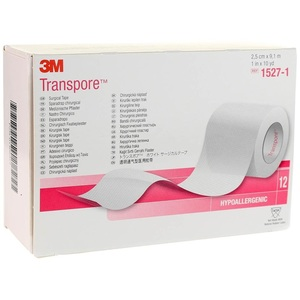 Transpore™ Surgical Tape, 12/package