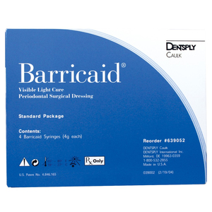 Barricaid VLC Peridontal Surgical Dressing Standard Syringe Package