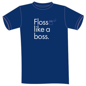 Floss Like a Boss Crew T-Shirt