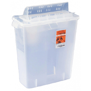 In Room Sharps Container with Always Open Lid